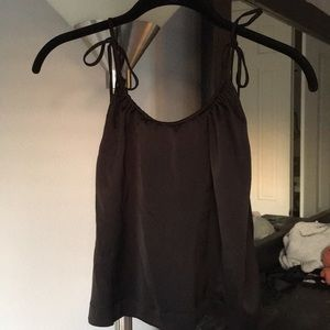 UO Tied straps blouse